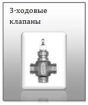 3-ходовые клапаны